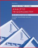Analytic Trigonometry with Applications : Test Bank, Barnett, Raymond A. and Ziegler, Michael R., 0471746568