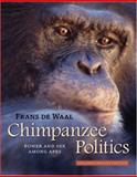 Chimpanzee Politics 25th Edition