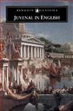 Juvenal in English, Juvenal and Winkler, Martin, 0140446567
