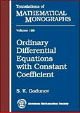 Ordinary Differential Equations with Constant Coefficient, Godunov, S. K., 0821806564