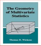 The Geometry of Multivariate Statistics, Wickens, Thomas D., 0805816569