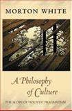 A Philosophy of Culture : The Scope of Holistic Pragmatism, White, Morton Gabriel, 0691096562