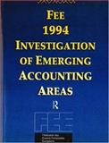 FEE Investigation of Emerging Areas in European Accounting 9780415116572