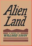 Alien Land, Willard Savoy, 1555536573