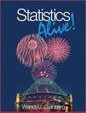 Statistics Alive!, Steinberg, Wendy J., 1412956579