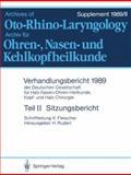 Sitzungsbericht, Fleischer, Konrad, 3540516573
