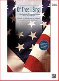 Of Thee I Sing!, Sally K. Albrecht, Jay Althouse, Alan Billingsley, 0739046578
