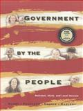 Government by the People : National, State and Local, Burns, James MacGregor and Cronin, Thomas E., 0130116580
