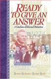 Ready to Give an Answer, Herman Hoeksema and Herman Hanko, 0916206580