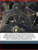 Del Costituto Di Debito Nelle Obbligazioni Correali, Filippo Serafini, 1149696583