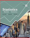 Statistics for Business and Economics, McClave, James T. and Benson, P. George, 0321946588