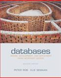 Databases : Design, Development and Deployment, Rob, Peter and Semaan, Elie, 0072826584