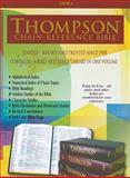 Thompson Chain Reference Bible-KJV, Frank Charles Thompson, 0887076580