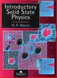 Introductory Solid State Physics, Myers, H. P., 074840659X