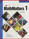 Mathmatters, Lynch, Olmstead and McGraw-Hill Staff, 0538686596