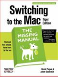 Switching to the Mac, Pogue, David and Goldstein, Adam, 0596006608