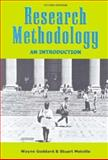 Research Methodology : An Introduction, Goddard, Wayne and Melville, Stuart, 0702156604