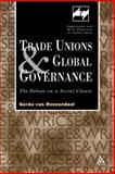 Trade Unions and Global Governance, Gerda van Roozendaal, 082645660X