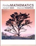 Finite Mathematics, Maki, Daniel and Thompson, Maynard, 0073196606