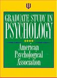 Graduate Study in Psychology 2000 9781557986603