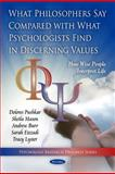 What Philosophers Say Compared with What Psychologists Find in Discerning Values: How Wise People Interpret Life, , 1608766608