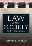 Law and Society : An Introduction, Barkan, Steven E., 0131946609