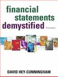 Financial Statements Demystified, Hey-Cunningham, David, 1865086606