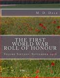 The First World War Roll of Honour, M. Dale, 1500656615