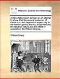 A Dissertation upon Genius, William Sharp, 1170366619