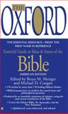 The Oxford Essential Guide to Ideas and Issues of the Bible, Bruce M. Metzger and Michael D. Coogan, 042518661X