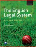 The English Legal System, Gillespie, Alisdair, 0199556628