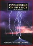 Fundamentals of Physics, Resnick, Robert E. and Halliday, David, 0471156620