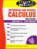 Schaum's Outline of Calculus, Ayres, Frank, Jr. and Mendelson, Elliot, 0070026629