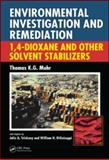 Groundwater Contamination by Solvent Stabilizers 9781566706629