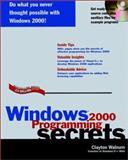 Windows 2000 Programming Secrets, Clayton Walnum, 0764546635
