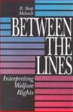 Between the Lines : Interpreting Welfare Rights, Melnick, R. Shep, 0815756631