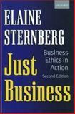 Just Business, Elaine Sternberg, 0198296630