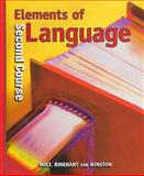 Elements of Language, O'Dell, 0030526647