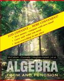 College Algebra, 1E Binder Ready Version, Mccallum, 0470556641