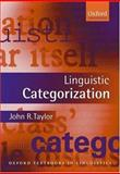 Linguistic Categorization 9780199266647