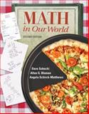 Math in Our World, Sobecki, Dave and Bluman, Allan G., 0077356659