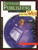 Database Publishing with FileMaker Pro on the Web, Langer, Maria, 0201696657