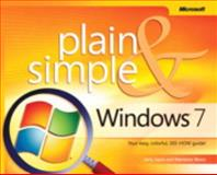 Windows 7 Plain and Simple, Moon, Marianne and Joyce, Jerry, 0735626669