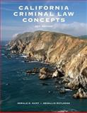 California Criminal Law Concepts 2011 Package California 9780558786670