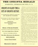 Oneonta in Olden Time and Bits of Oneonta History, Harvey Baker, 0978906675