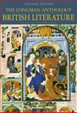 The Longman Anthology of British Literature Vol. 1A : The Middle Ages, Damrosch, David and Baswell, Christopher, 0321106679