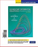 Elementary Differential Equations with Boundary Value Problems, Books a la Carte Edition, Edwards and Edwards, C. Henry, 0321656679
