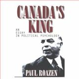 Canada's King, Paul Roazen, 0889626677