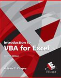 Introduction to VBA for Excel, Chapra, Steven C., 013239667X