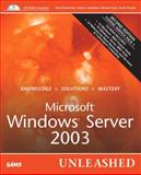 Microsoft Windows Server 2003 Unleashed, Rand Morimoto and Michael Noel, 0672326671